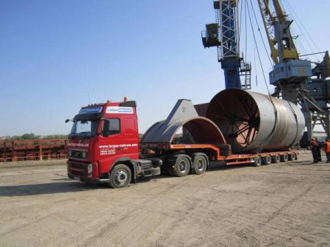 Оборудование для Михайловского цементного завода