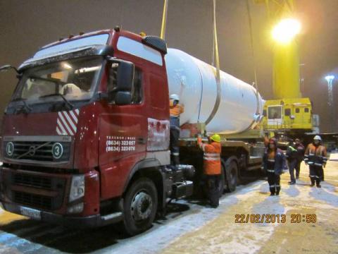Оборудование для Сызранской НПЗ