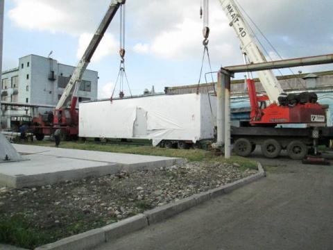 Газопоршневая генераторная установка в г. Черкесск