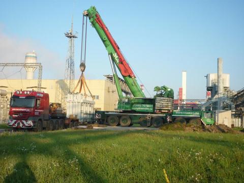 Доставка траснформатора в Выксинский металлургический комбинат